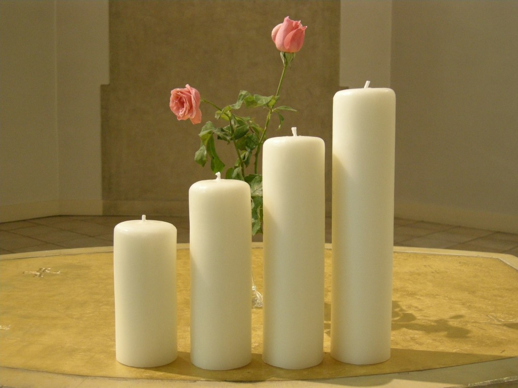 Cierges d'autel